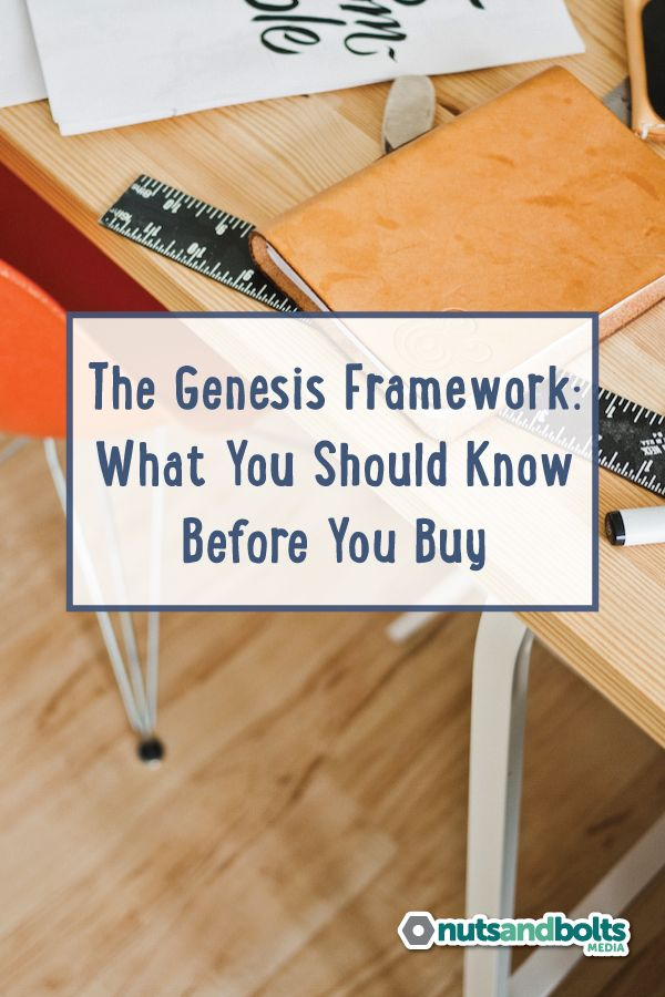 7 things you should know before you buy the Genesis framework for WordPress.