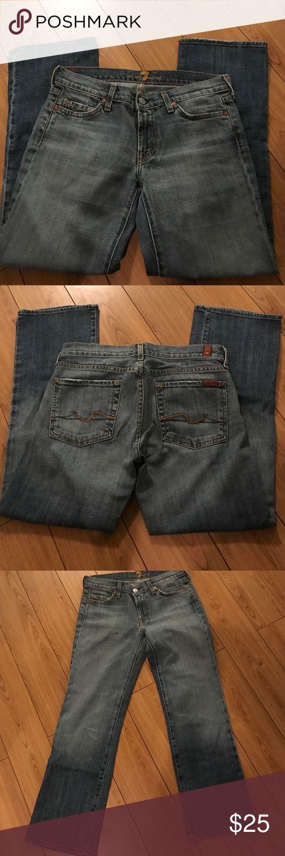Seven jeans Crop boot cut seven jeans. Barely worn Seven7 Jeans Boot Cut