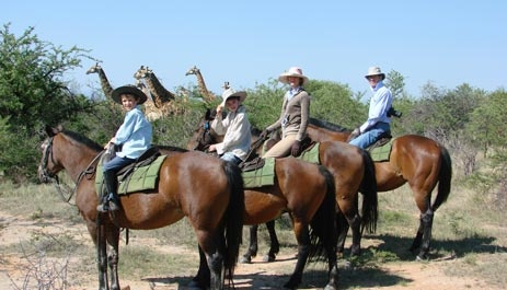 Horse riding, South Africa