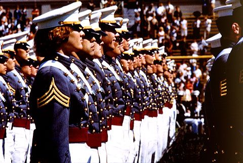 First female West Point graduates in 1980.
