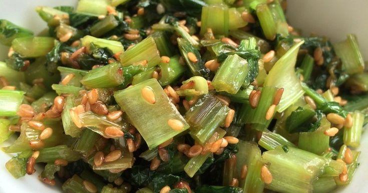 かぶの葉(大根の葉)の簡単ふりかけ by 664 [クックパッド] 簡単おいしいみんなのレシピが256万品