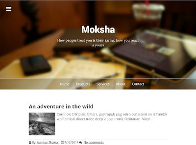 Moksha Blogger Template Moksha Blogspot Template Moksha B Template Moksha Blogger Theme Moksha Blogspot Theme Moksha B Theme