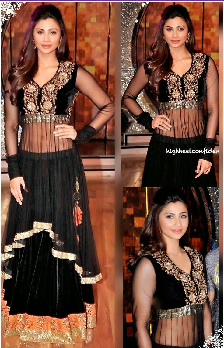 #Lavishing Lehenga!! #Black Beauty!!  #Black Net flared lehenga designed with Zardosi,Moti Work And Resham Embroidery With Stone Work. As shown in the photo Black Velvet choli is available.Dupatta comes along with this. The choli/blouse size is and lehenga waist size is inches. The length of the lehenga is inches.  INR-6813 Only With Exclusive 15% Discount  Shop now@ http://tinyurl.com/qaf28mn