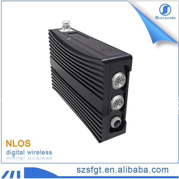 Multi-hop ad hoc VoIP 340MHz UHF COFDM multicast IP mesh