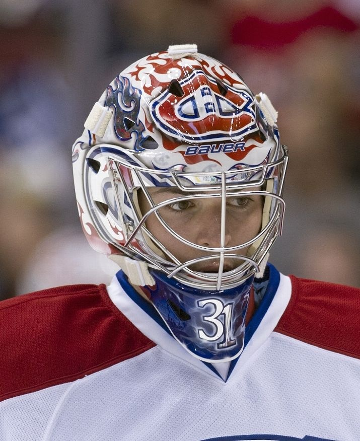 Carey Price. Montreal Canadiens goaltender.