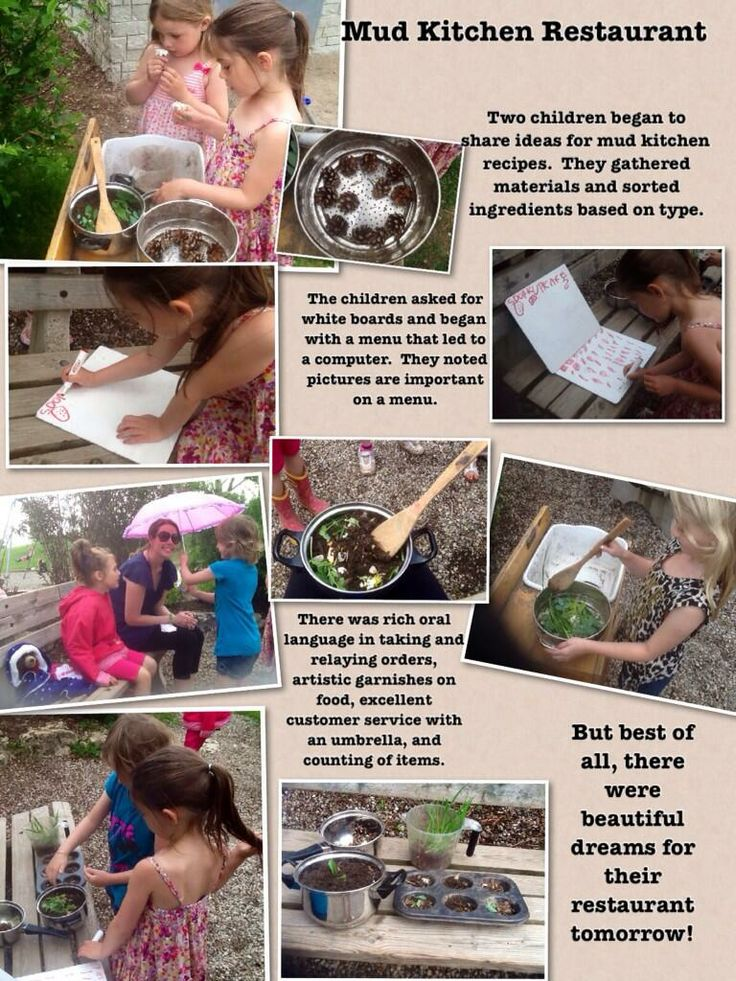 Mud Kitchen -with photos and writing outside-Tessa Heffernan