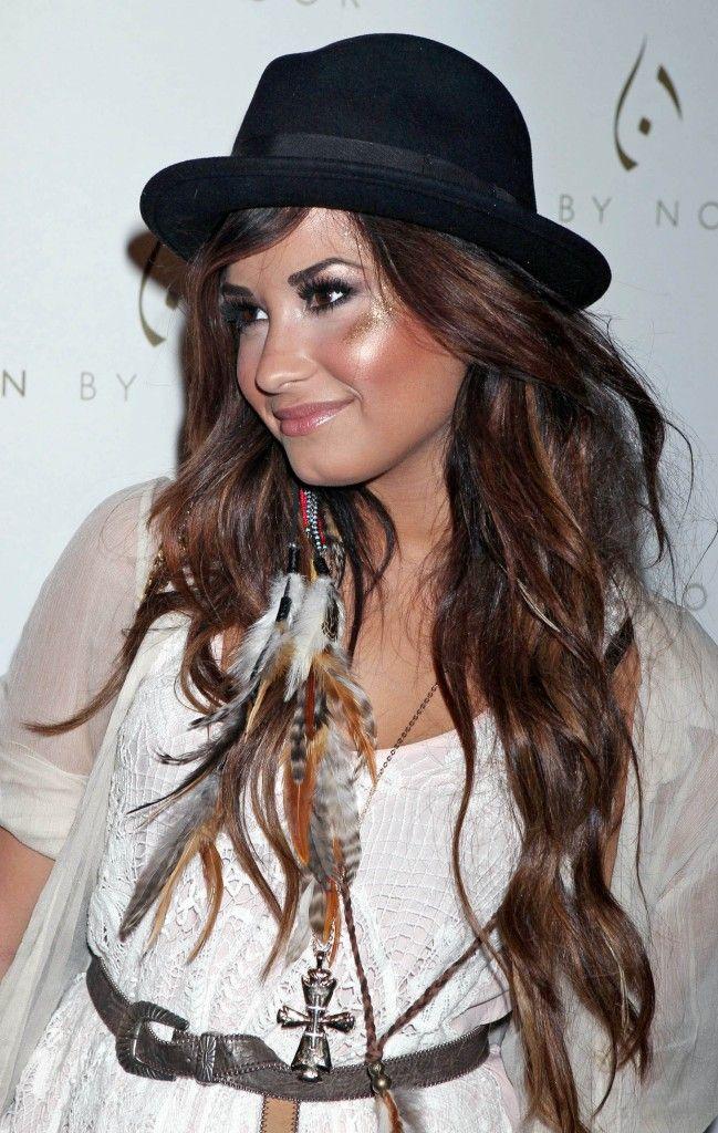 Demi Lovato Rocker Friendly Hair