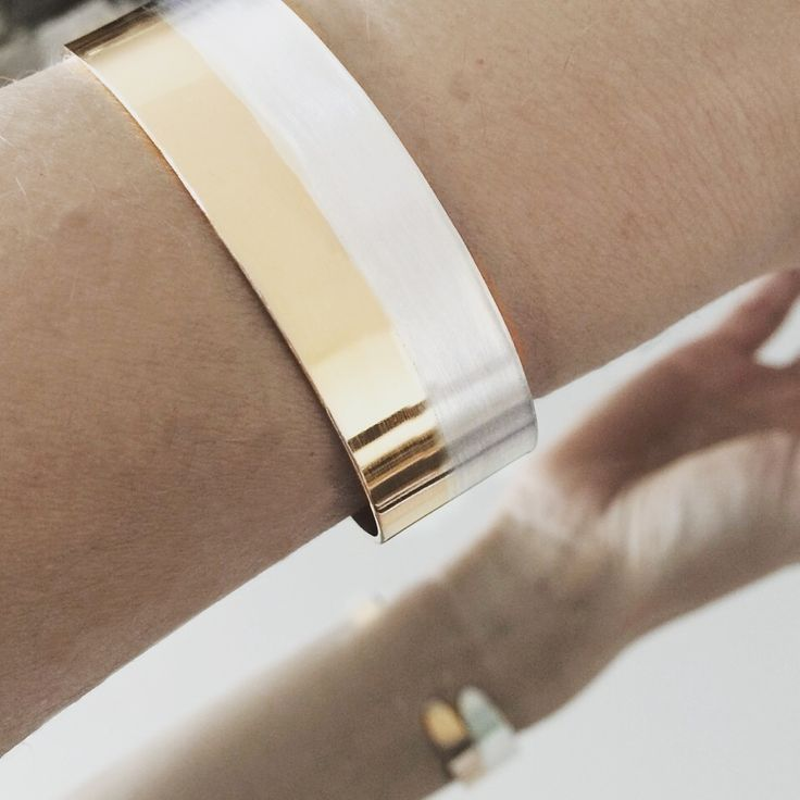 KAMICOEUR #gold #silver #bracelet
