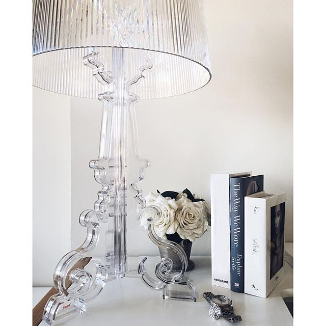 Regram @carolinereceveurlucas  This #Kartell Bourgie Lamp match perfectly in my…