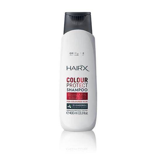 Ochronny szampon do włosów farbowanych HairX