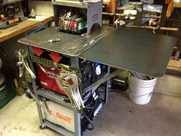 welding table picture thread page 8