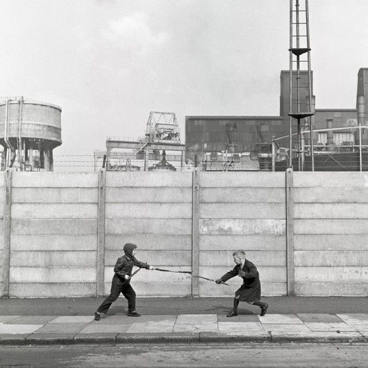 Children playing on the street in London by Frederick Wilfred taken sometime between 1957-1962