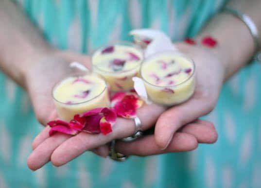 DIY Floral Lip Balm & Sugar Scrub