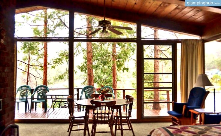 Pet Friendly Duplex Cabin Overlooking Fern Valley For Luxury Camping Stay In Idyllwild California Luxury Cabin Luxury Camping Idyllwild Cabin
