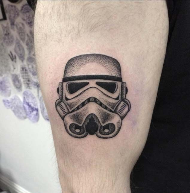 Stormtrooper Star Wars Tattoo by Lauren Marie Sutton