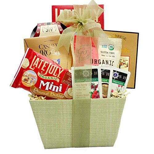 Broadway Basketeers Organic and Natural Healthy Gift Basket - A Healthy Gift Basket - http://goodvibeorganics.com/broadway-basketeers-organic-and-natural-healthy-gift-basket-a-healthy-gift-basket/