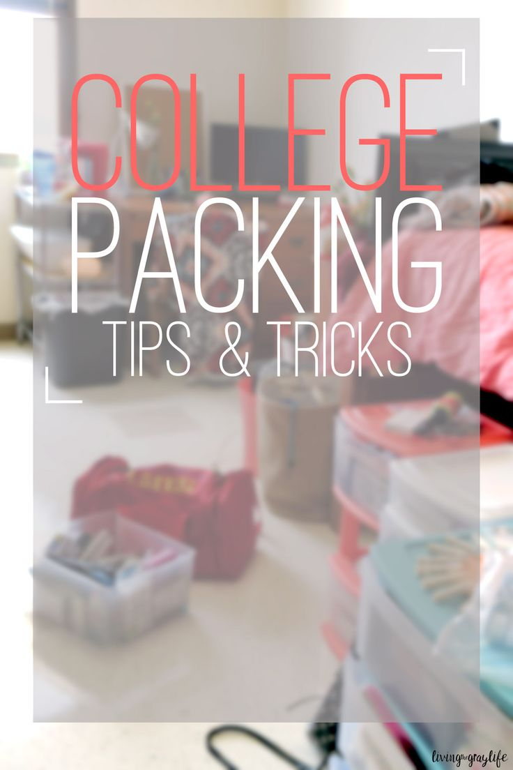 "It's that time! You've successfully bought everything you think you need for college and you're ready to start packing. There's just one problem: you have no idea where to start. The buying and planning are the fun part, but the back just straight up is no fun at all. But, don't worry! I'm here to … Continue reading ""College Packing Tips & Tricks"""