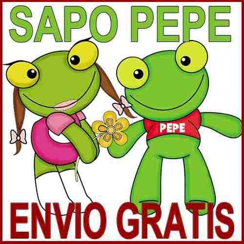 Kit Imprimible Sapo Pepe Tarjetas Cumples Invitaciones - $ 29,99