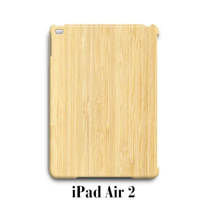 Wood Bamboo iPad Air 2 Case Cover Wrap Around