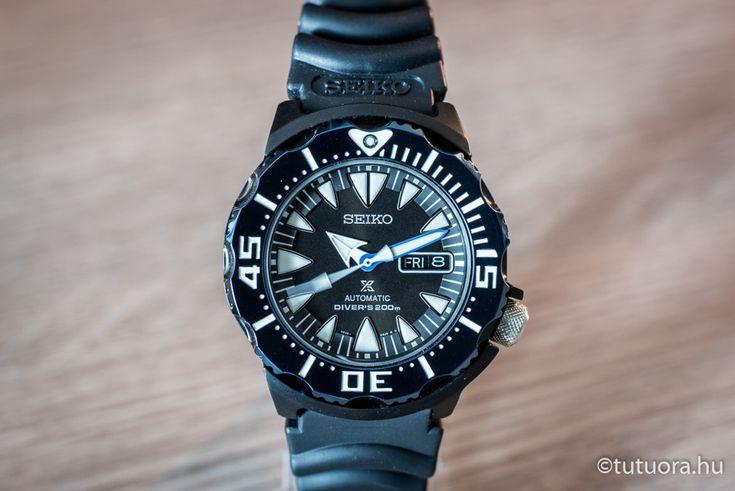 SEIKO Prospex Sea Monster SRP581K1  óra harmadik nézet