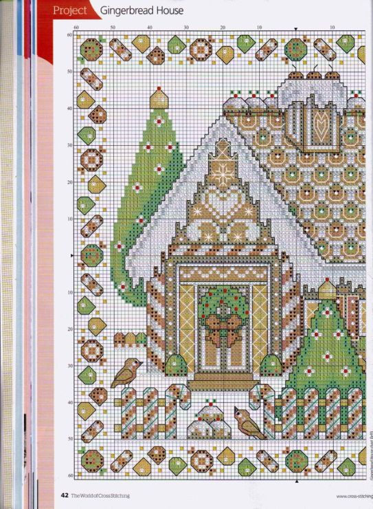 Christmas time cross stitch - (1) Gallery.ru / Фото #24 - The world of cross stitching 196+приложение Christmas Charts - tymannost