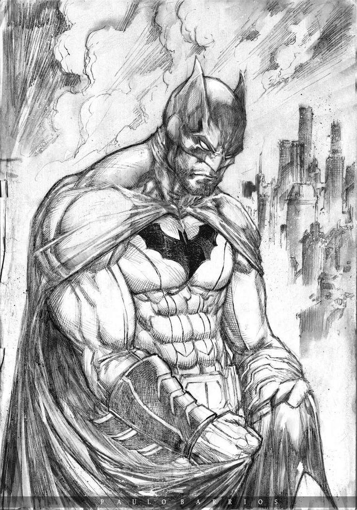 Batman by Paulo Barrios