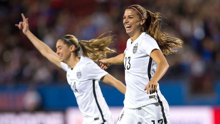Alex Morgan scored 12 seconds in the U.S. women's national team's Olympic qualifier vs Costa Rica.