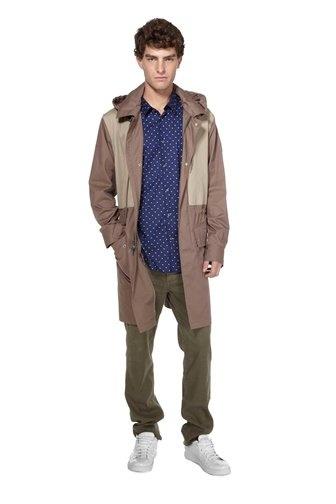 marc cambridge cotton coat