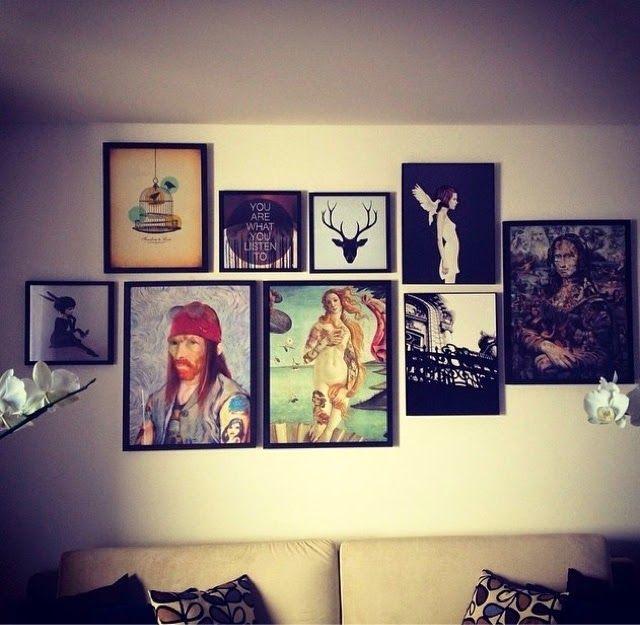 Coisas de Teteias : Decore sua casa com quadros