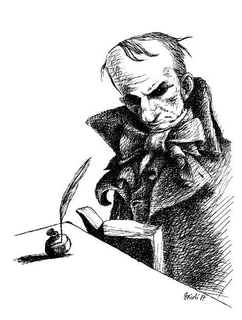 Tullio Pericoli - Charles Baudelaire