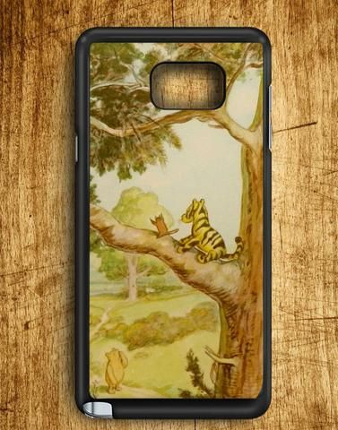Winniethe Pooh Tiggers Don't Climb Trees Samsung Galaxy Note 5 Case