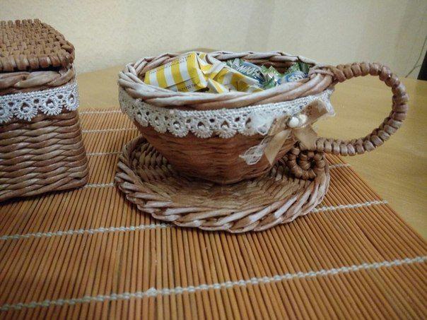 Чашка Плетение