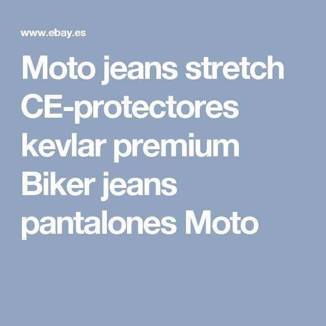 Moto jeans stretch CE-protectores kevlar premium Biker jeans pantalones Moto