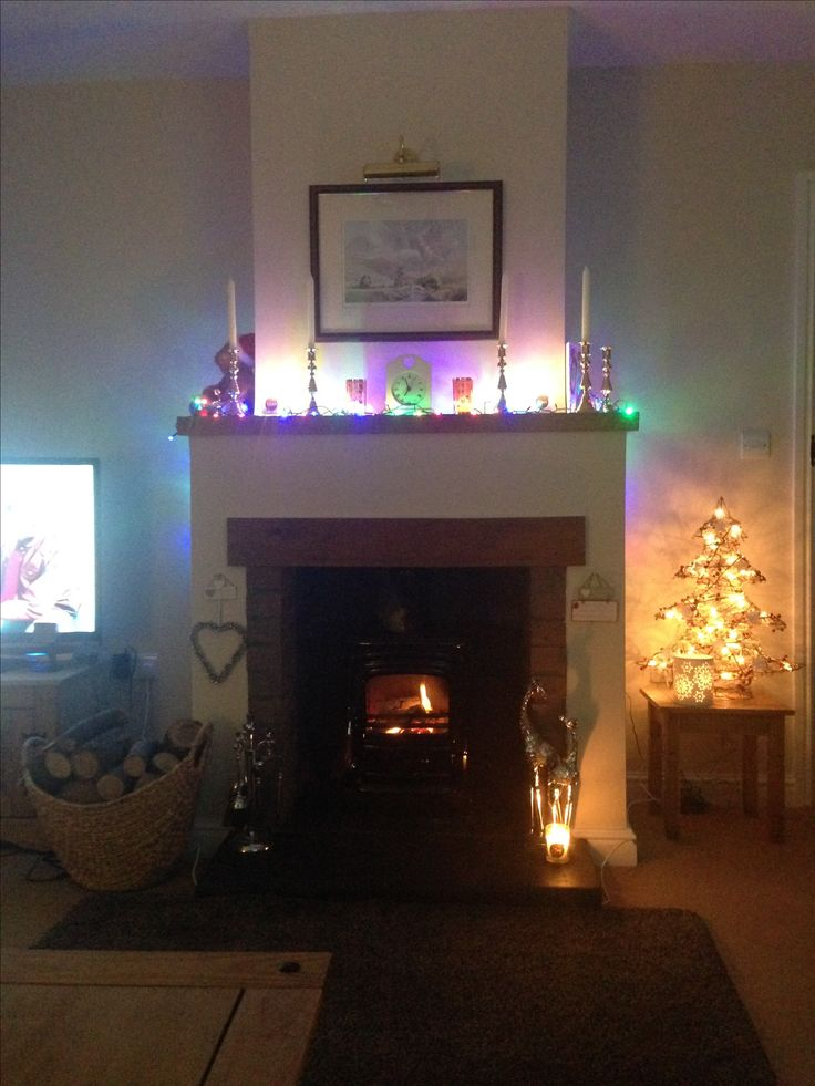 Love Christmas time at home ❤🏡 Cosy ❤ Fireplace