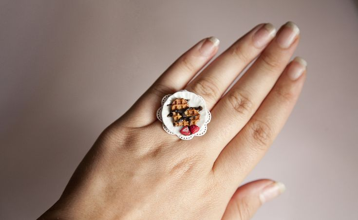 Ilianne | Jewelry Made of Love - Heart Waffle with Nutella