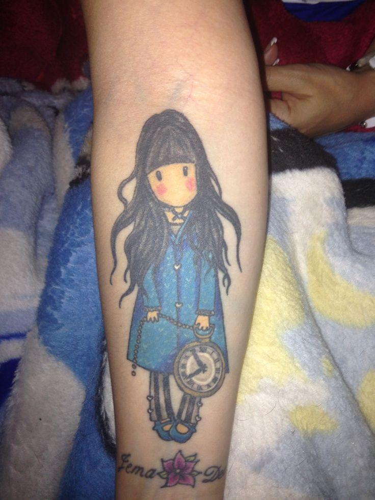 My gorjuss girl tattoo