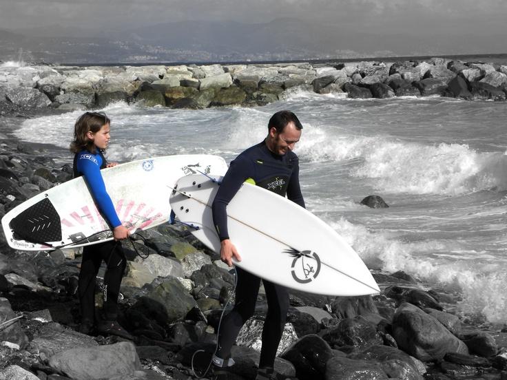 #Arenzano #liguria #surf for #family