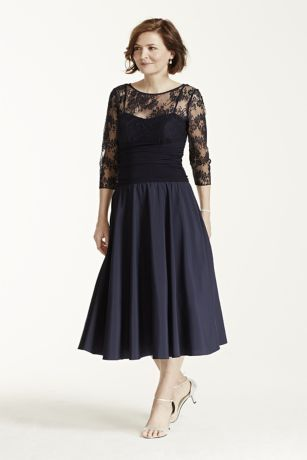 Ultra-feminine and modern, this 3/4 sleeve illusion neckline dress can be worn time and again for any special occasion!  Sweetheart bodice features stunning illusion lace detail.  Ruched waist creates a flattering focal point.  3/4 sleeve adds just the right amount of coverage.  Fully lined. Back zip. Imported poly/nylon/spandex blend. Hand wash cold.