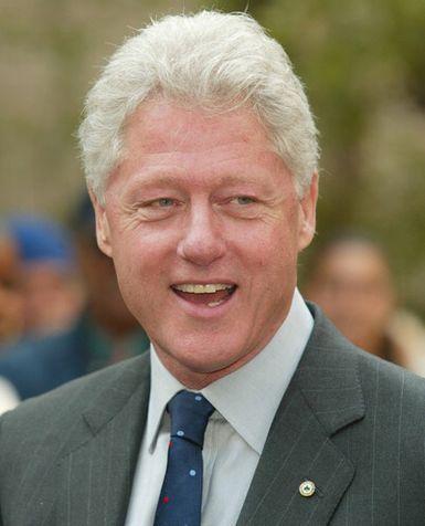 Bill Clinton. My butcher, Walter, looks like Bill Clinton.