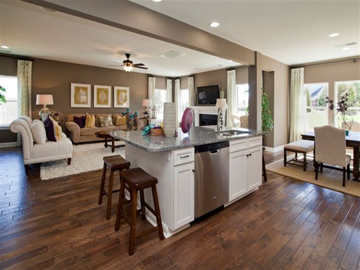 Reseda Single Family Home Floor Plan in Mooresville NC Ryland