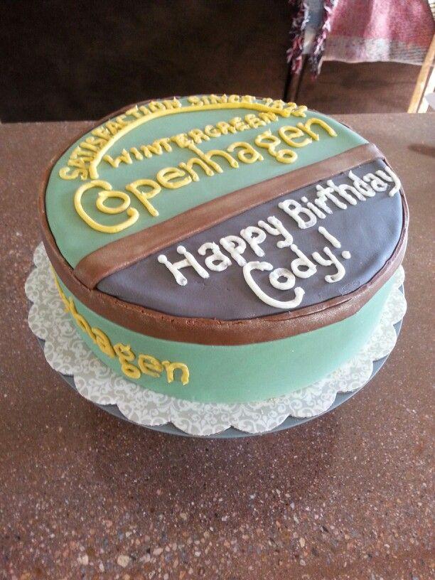 Copenhagen birthday cake Bakin Up Bliss