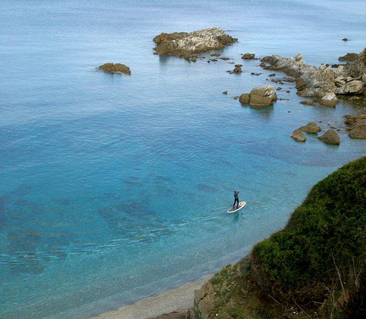 A little further along the coast. Skopelos.
