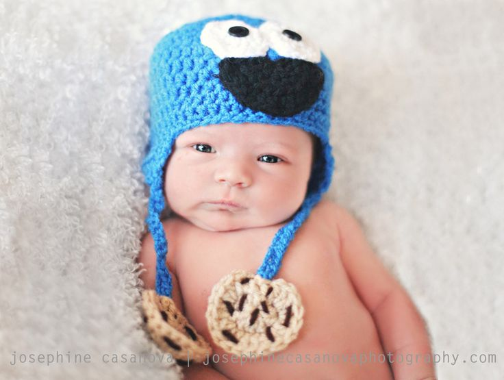 Cookie Monster Hat by CatilyCrochet on Etsy https://www.etsy.com/listing/108889515/cookie-monster-hat