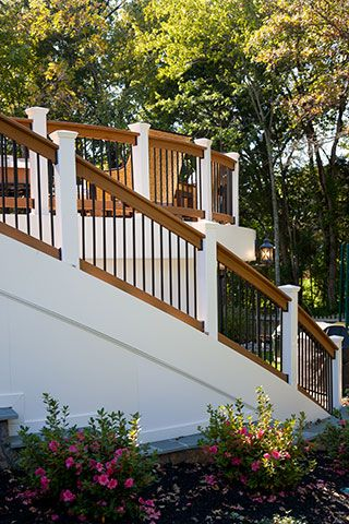 Best 25 vinyl deck railing ideas on pinterest vinyl for Compare composite decking brands