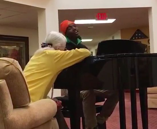 AJ Carter Johnson Piano Retirement Home Submitted College Hunks Moving Part 82