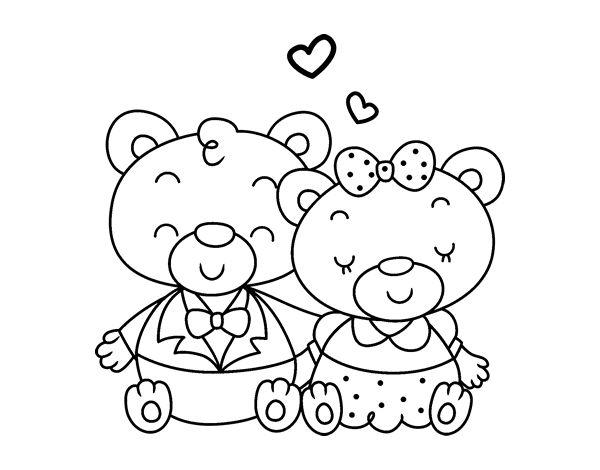 Dibujos Osos Amorosos Para Colorear E Imprimir: 39 Best Images About Dibujos De Amor On Pinterest