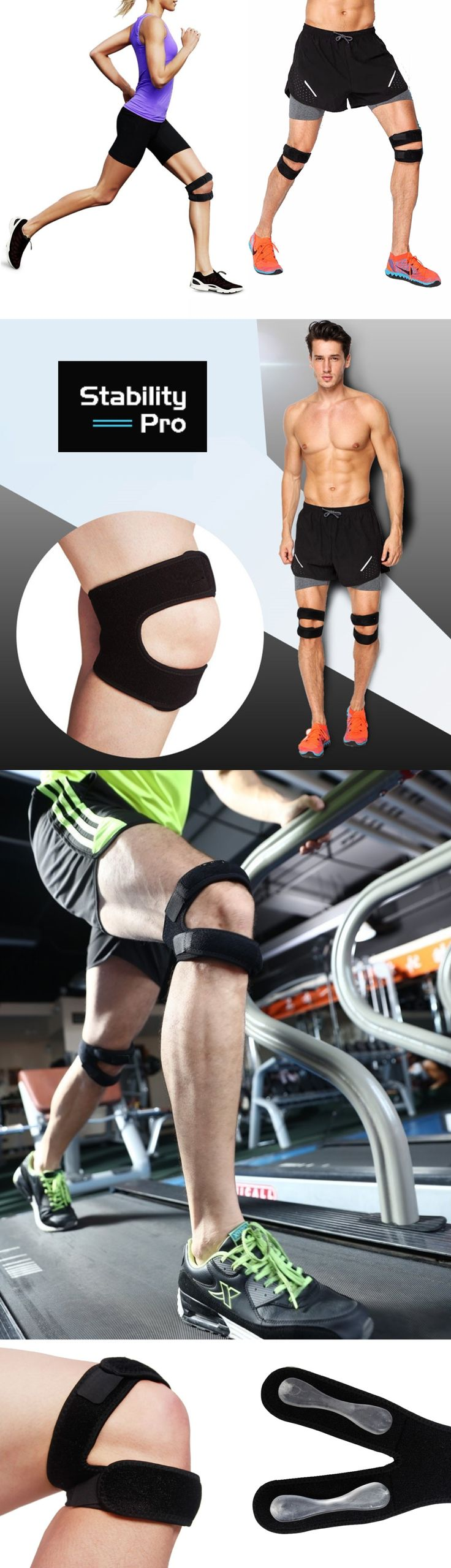 MAXIMUM SUPPORT & MOBILITY - Unique design provides maximum support above and below the kneecap without restricting movement. The ideal product for support to reduce pain and improve mobility so you can keep doing what you love to do!