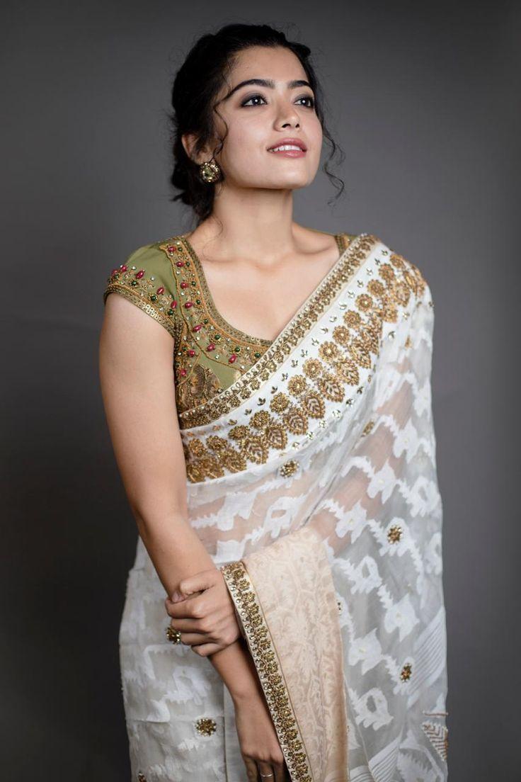 Rashmika Mandanna Stills From Behind Woods Awards