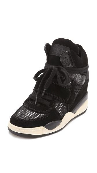Ash Funky Bis Wedge Sneakers. What do we think of these? -K