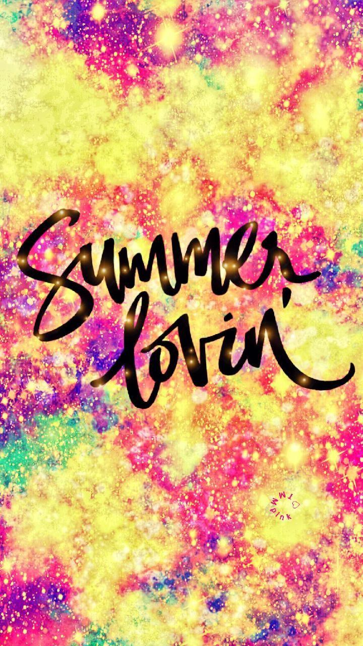 Summer Loving Galaxy Wallpaper Androidwallpaper Iphonewallpaper Wallpaper Galaxy Sparkle Glitter Lockscreen Galaxy Wallpaper Wallpaper Trendy Wall Decor